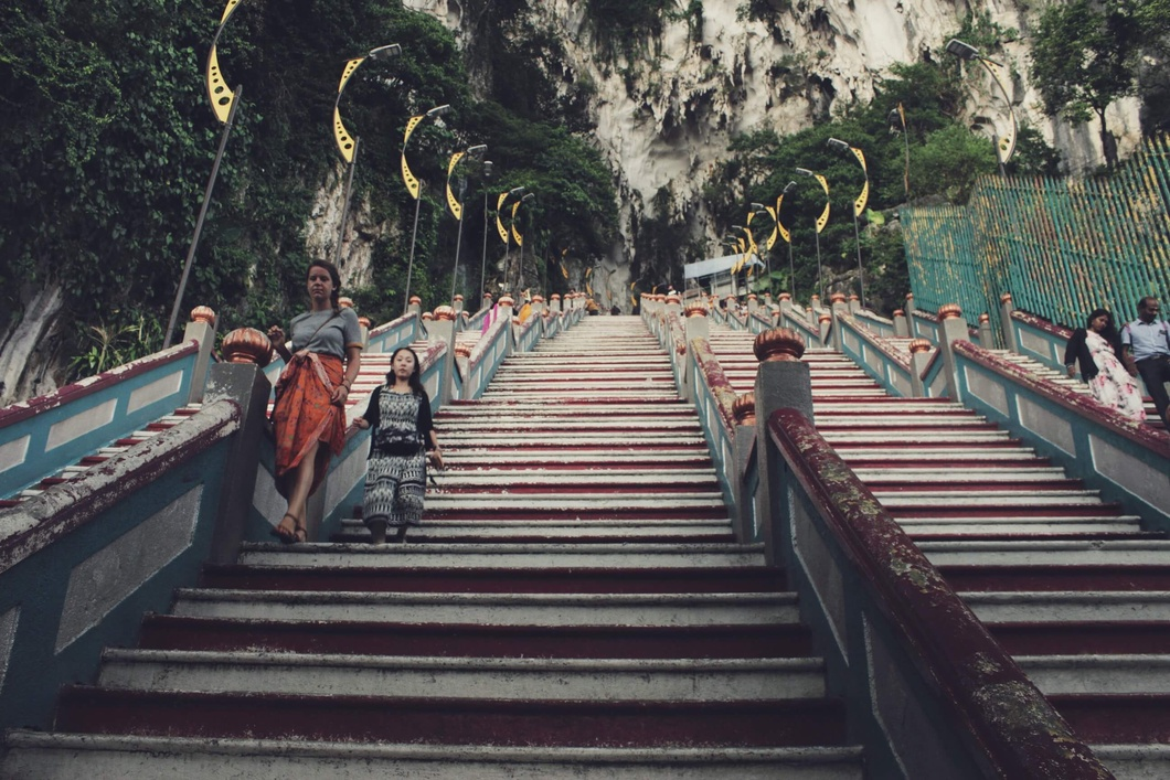 Photo: A lesser crowd during low season and off-peak hours at Batu Caves, Selangor