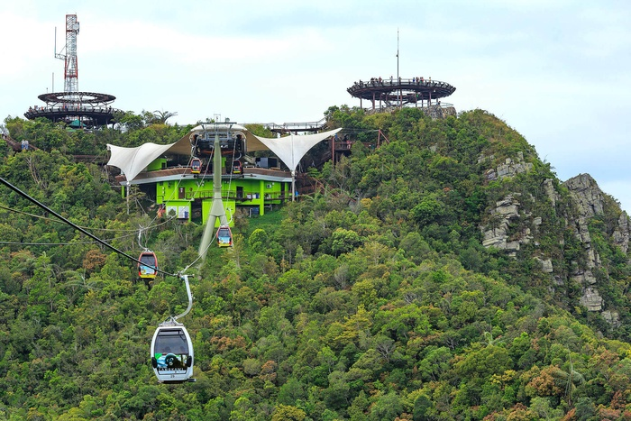 Langkawi Cable Car, SkyRex, SkyDome & 3D Art Gallery
